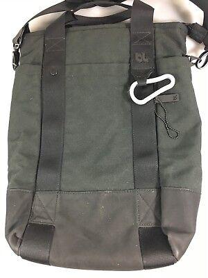 BlueLounge Black Eco-Friendly Vertical Laptop Tablet Tote Messenger Bag  Eco Friendly Messenger Bag