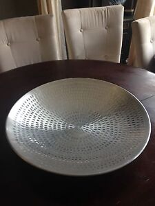 Galvanized steel bowl for center piece