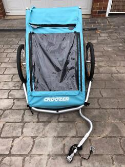 Croozer Kid Plus For 2 Bicycle Trailer