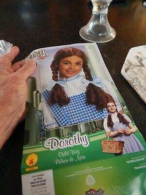 Dorothy Of The Wizard Of Oz Costume (COSTUME DRESS UP Rubie's Dorothy Child Wig The Wizard Of Oz (ages 6+) EX)