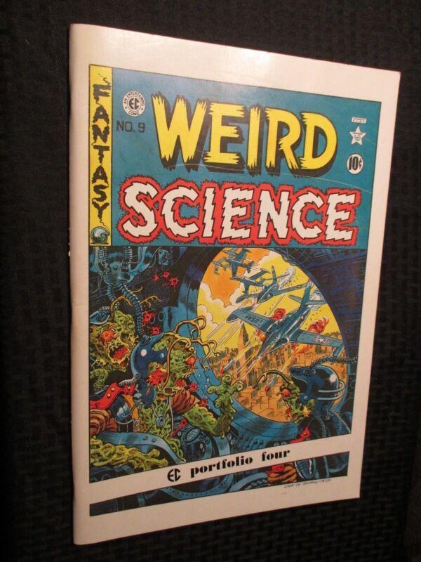 1973 EC Comics WEIRD SCIENCE Portfolio #4 VF+ Russ Cochran Oversized