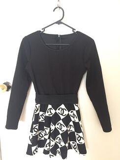 Brand New Longsleeve Black Dress sz M