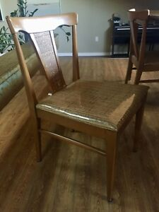 Mid century dining chairs (set of 4)