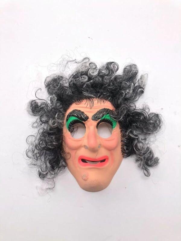 Vintage BEN COOPER Hairy Scary Mask Halloween Costume