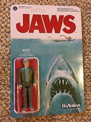 Jaws Quint Figure Lot Set Funko Reaction Rare Shark