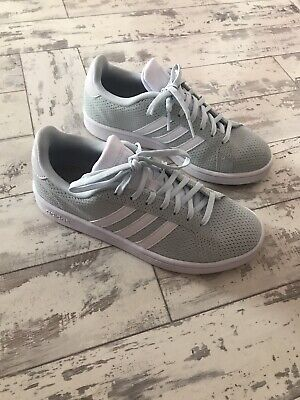 Adidas Grand Court Trainers Women's Mint Colour Size 6