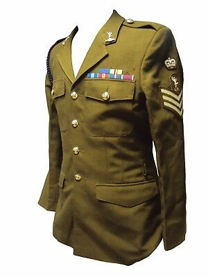 NO.2 KHAKI TUNIC/JACKET - Uniform - British Army Military - Costume - Grade 1 - British Army Costume