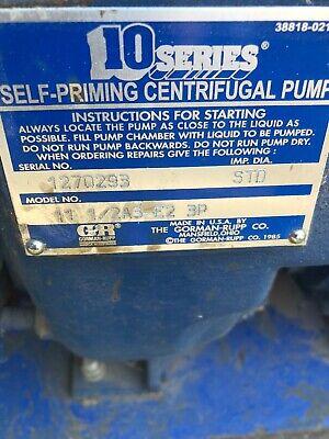 Gorman Rupp 11 12 A3-e2 3p Trash Pump