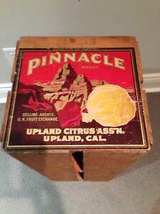 1940's Rare Sunkist Grapefruit Crate with original Label