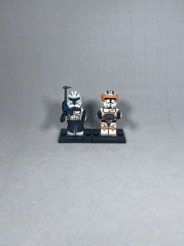 Lego Compatible  Star Wars Commander Cody And Commander Rex