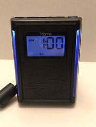 iHome iP40 Docking Clock Radio Black Energy Star