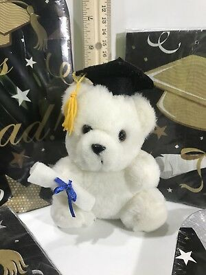 Graduation Plates And Napkins (Graduation Teddy Bear With Matching Paper Plates And Napkins Party)