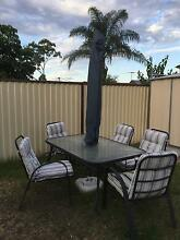Outdoor table & chair with umbrella Merrylands West Parramatta Area Preview