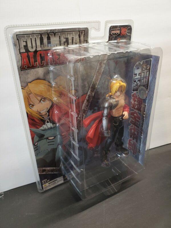 "2004 Banpresto Full Metal Alchemist EDWARD ELRIC ""B"" 9"" PVC Figure Statue Anime"