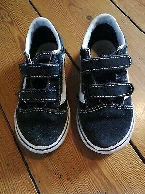 Boys Vans Trainers Size UK 9 Infant EUR 26