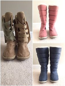 All 3 boots for $65!!!