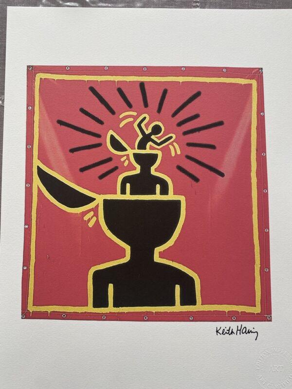 Keith Haring Print Signée et numérotée