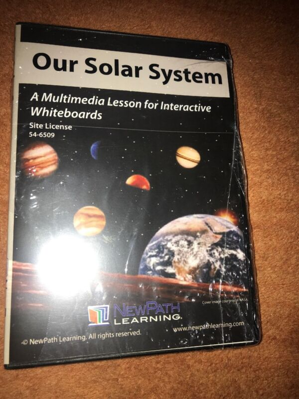 Our Solar System Multimedia Lesson For Interactive Whiteboards FREE SHIP