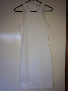 Zara white racer midi dress / Size XS Ngunnawal Gungahlin Area Preview