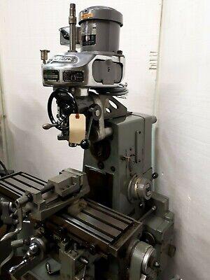 Vertical Milling Attachment Clausing 8540 Bridgeport M Head