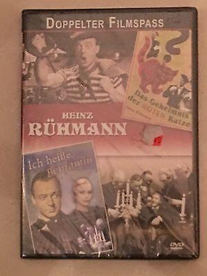 2 Filme - Ich heiße Benjamin & Das Geheimnis der roten Katze mit Heinz Rühmann