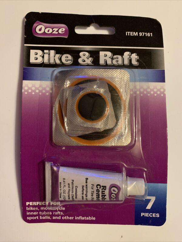 Ooze Bike & Raft Patch Kit 7 Pieces
