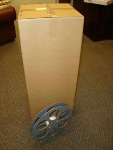 35mm Feature Film Split Reels 2000 foot Grey *Group of 20*