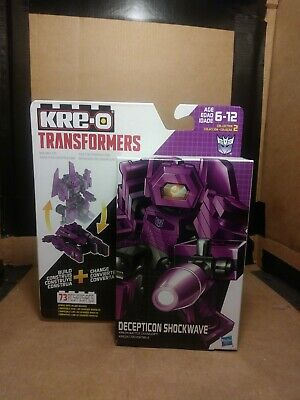 Transformers Kreo Battle Changers Shockwave