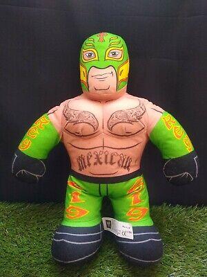 2011 WWE Brawlin Buddies Rey Mysterio In Green - Mattel - Working
