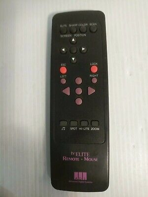 ADVANCED DIGITAL SYSTEMS (ADS) TV ELITE REMOTE+ MOUSE - Modern Elite Tv