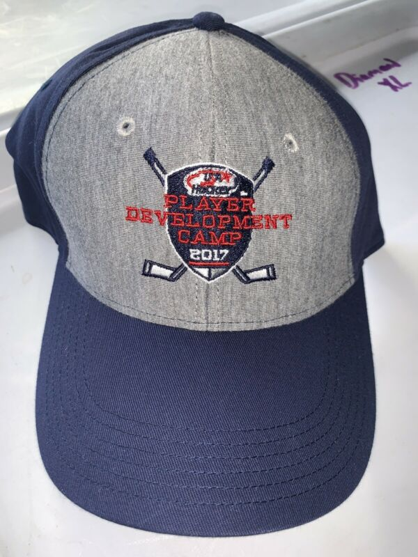Usa Hockey Team Issued Pro Stock Return Ccm Hat Rare Athletic Warrior Bauer