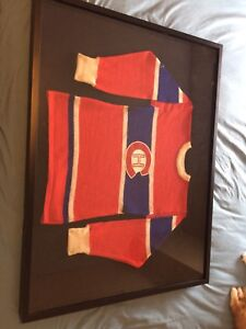 1940's wool habs jersey/sweater trade for 2t project