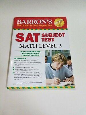 Barron's SAT Subject Test Math Level 2, 10th Edition (2012) Practice