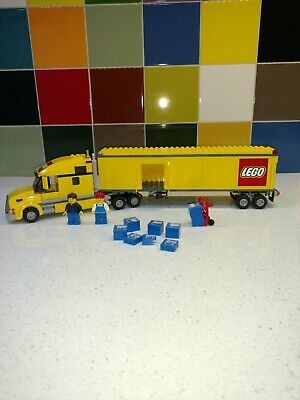 LEGO 3221 Truck RETIRED 100% COMPLETE WITH ORIGINAL INSTRUCTIONS AND BOX VINTAGE