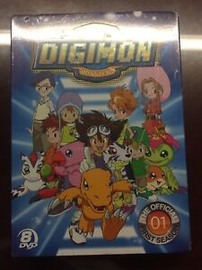 Digimon: The Official First Season Anime DVD  (Sealed)