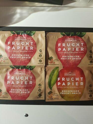 Vegan Frucht Papier
