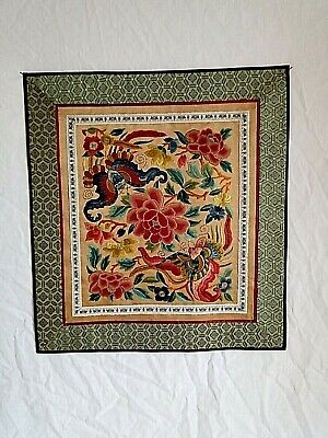 Antique Embroidery Chinese on Silk