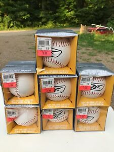 Brand new slow pitch soft balls