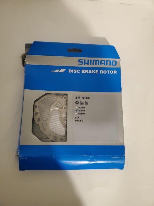 Shimano SLX SM-RT66 Bike Disc Brake Rotor 180mm 6 Bolts New