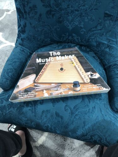 The Music Maker Worlds Most Charming Musical Instrument No Tuner Pick And Spare  - $20.00