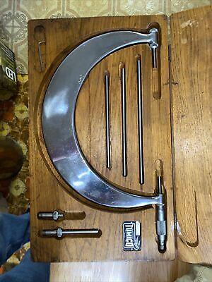 6-9 Tumico Tubular Oustide Micrometer Set Wstandards In Case Usa