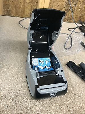 Dymo Label Writer 450 Turbo Printer No Adapter Usb Power Cables Accessories