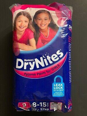 2 Single Rare Vintage Huggies DryNites Goodnites Bedwetting Diapers