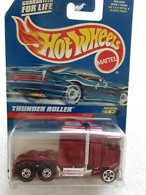 Hot Wheels Thunder Roller Collector # 483 NRFP