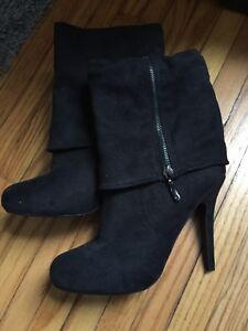 Women's Black Dress Boot
