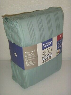 Better Homes & Gardens 400 Thread Count 4-PC FULL F SHEET SET 100% COTTON