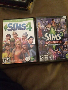 Sims4 & sims 3 expansion pack