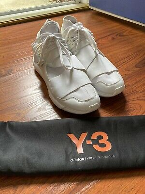 Adidas Y-3 Qasa High / White / Size 9