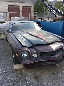1980 Chevrolet  Camaro project