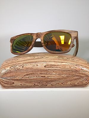 ReJwan Eyewear Polarized Wooden Frames Wood 004 Eyesize 53 (Wooden Eyewear Frames)
